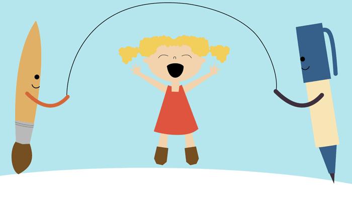El dibujo infantil psico ayuda infantil - Dibujos pared infantil ...