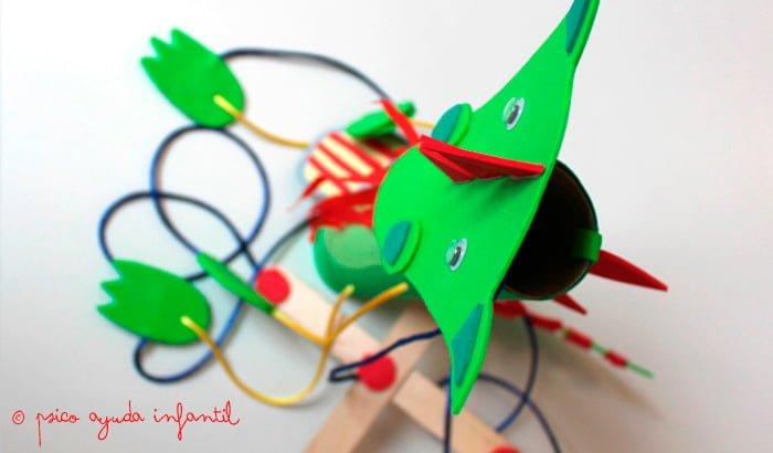Psico Ayuda Infantil - Taller infantil: Hacemos marionetas de Sant Jordi