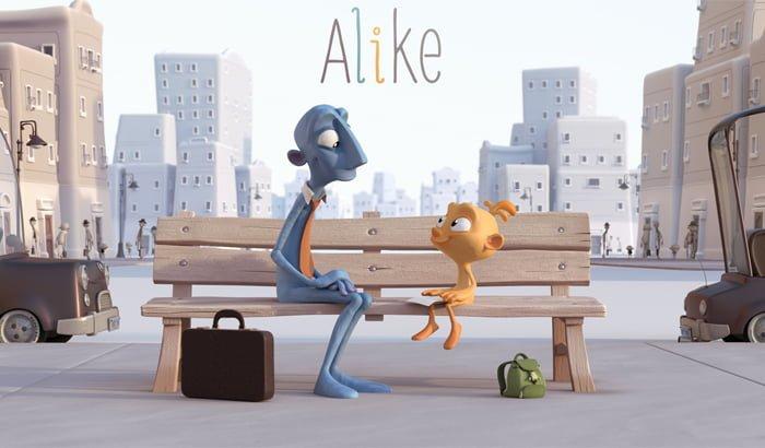 Psico Ayuda Infantil - El cortometraje Alike: ¡Llena de color tu vida!