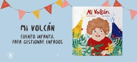 Libro infantil Mi Volcán